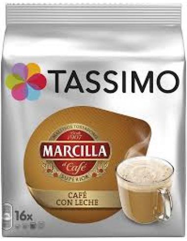 Tassimo café con leche (16 u) - Imagen 1