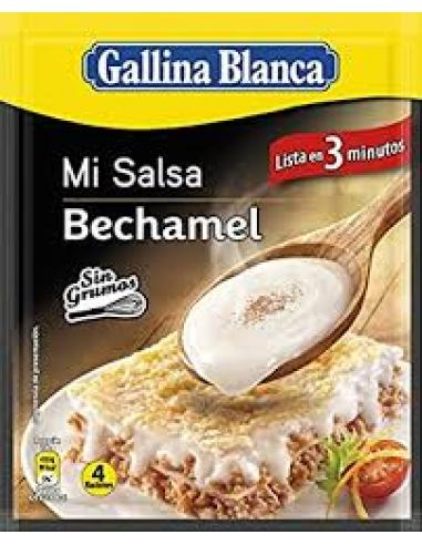 Salsa Bechamel Gallina Blanca sobre (39 g) - Imagen 1