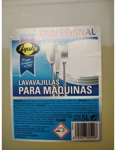 Lavavajillas para máquinas ayala (5L) - Imagen 1