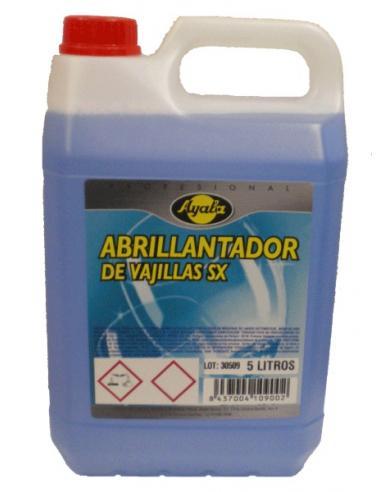 Abrillantador lavavajillas ayala (5L) - Imagen 1