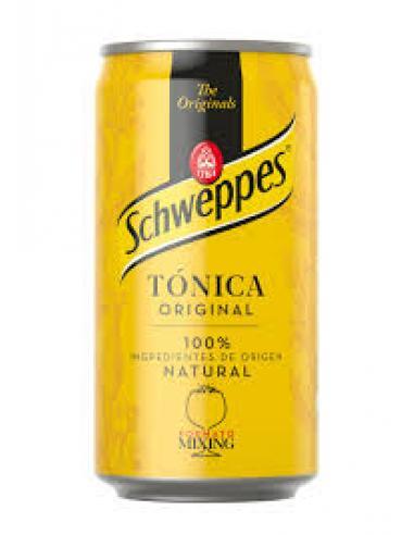 Tónica schweppes lata (250 ml) - Imagen 1