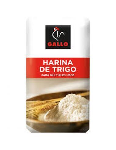 Harina de trigo gallo (1 kg) - Imagen 1