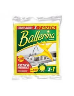 Bayeta ballerina (3+1) - Imagen 1