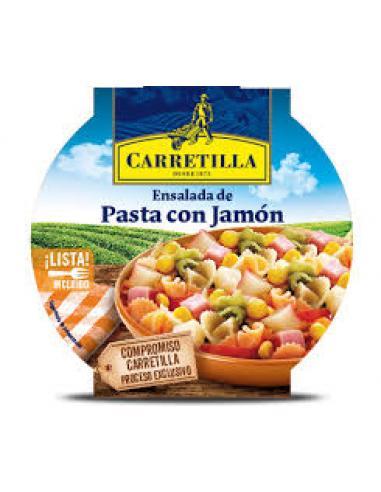Pasta con jamón carretilla (240g) - Imagen 1
