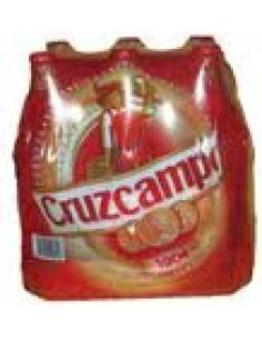 Cruzcampo cerveza pack 6 (1 litro) - Imagen 1