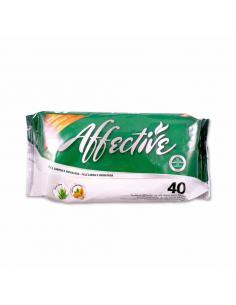 Affective toallitas húmedas (40 unidades) - Imagen 1
