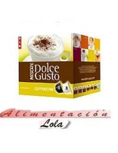 Dolce gusto cappuccino (8+8 capsulas) - Imagen 1