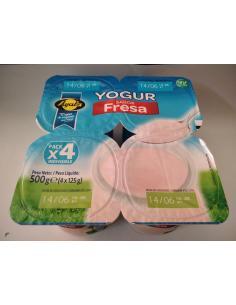 Yogur fresa ayala (pack 4) - Imagen 1