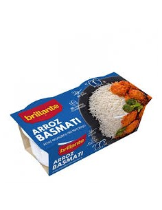 Arroz brillante basmati...
