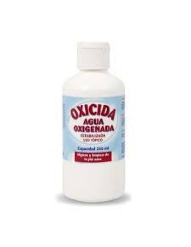 Agua oxigenada oxicida uso tópico (250 c.c) - Imagen 1