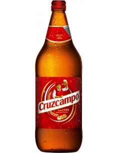 Cerveza cruzcampo de rosca...