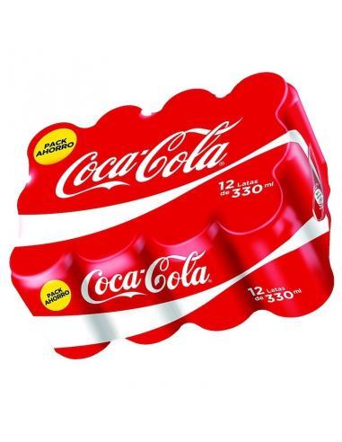 Coca cola lata normal (pack 12) - Imagen 1
