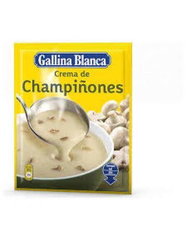 Crema de champiñones gallina blanca (62 g) - Imagen 1