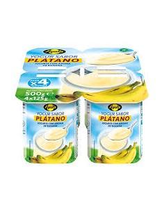Yogurt plátano ayala ( pack 4)
