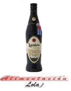 Botellona Ron Legendario elixir de cuba (0.70 cl) - Imagen 1