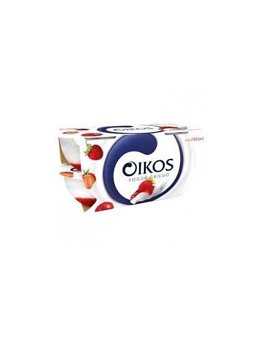 Oikos yogur griego con fresas ( pack 4)