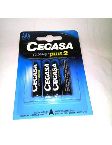 Pila Cegasa power plus2 Ro3.1.5 v AAA (1 U) - Imagen 1