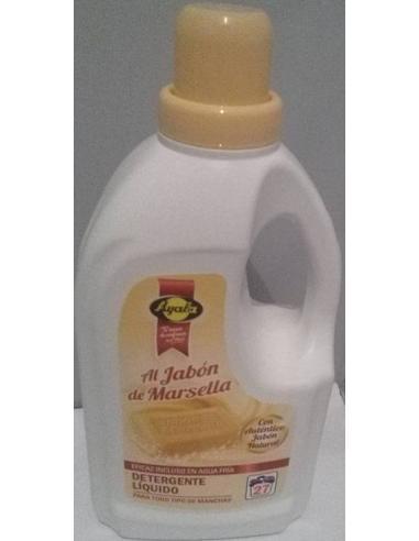 Detergente líquido ayala jabón marsella (27 c 2 l) - Imagen 1