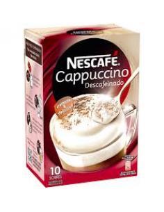 Nescafé Gold cappuccino (10 sobres) - Imagen 1