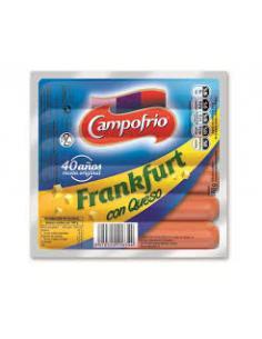 Salchichas campofrio frankfurt con queso ( 1 unidad) - Imagen 1