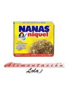 Estropajo nanas niquel (21 g) - Imagen 1