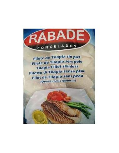Filete tilapia sin piel rabade (1 kilo)
