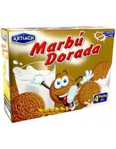 Caja galletas Marbú Dorada...