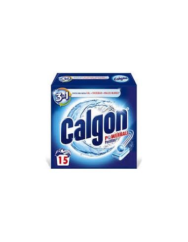 Calgón powerball pastillas (15 unidades)