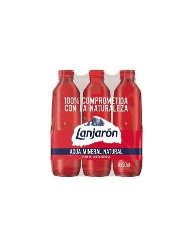 Agua lanjarón 50 cl (pack 6)
