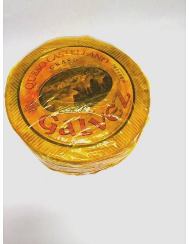 Queso castellano graso galvez (2.600 gramos aprox) - Imagen 1