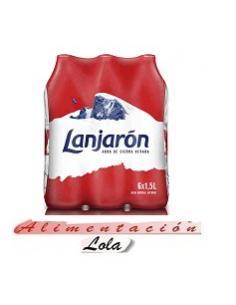Agua Lanjarón Pack 6 (1.5 l) - Imagen 1