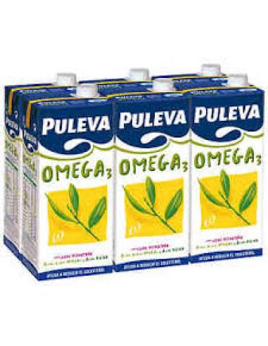 Leche Puleva Omega -3 pack-6 (1L) - Imagen 1