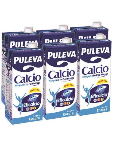 Leche Puleva Entera Calcio (Pack-6) - Imagen 1