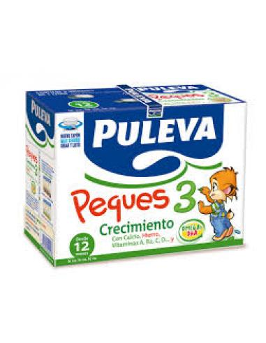Leche puleva peques 3 caja (6 litros) - Imagen 1