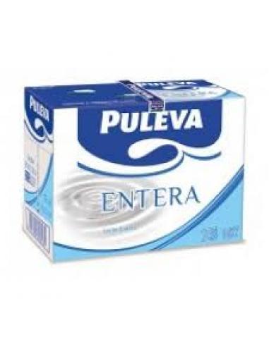 Leche Puleva Te Va Entera pack-6 (1litro) - Imagen 1