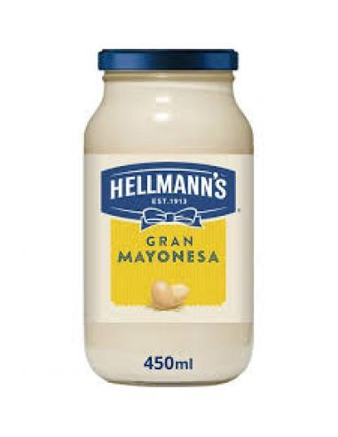 Mayonesa hellmanns (450 ml) - Imagen 1
