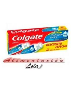 Crema colgate protection caries pack (2x75ml) - Imagen 1