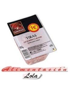 El pozo jamón curado taquitos (65g) - Imagen 1