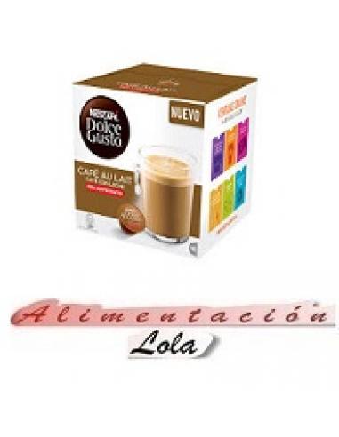 Café dolce gusto au lait descafeinado (16u) - Imagen 1