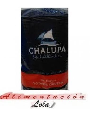 Sal yodada marina gruesa chalupa (1 kilo) - Imagen 1