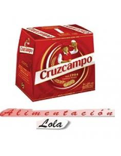 Cerveza cruzcampo (pack 6 x 25 cl) - Imagen 1