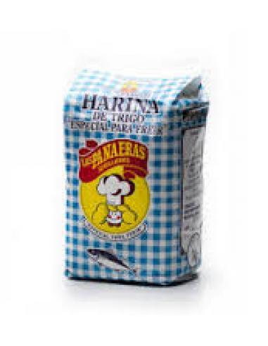 Harina de trigo las panaeras pescado (500 g) - Imagen 1