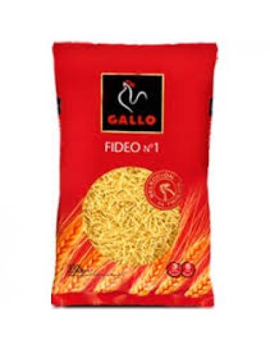 Pastas gallo fideo (nº 1 250 g) - Imagen 1
