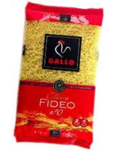 Pastas gallo fideo (nº 0 250 g) - Imagen 1