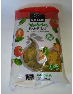 Pastas gallo  pajaritas con vegetales (250 g) - Imagen 1