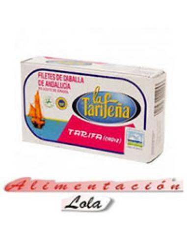 Filete Caballa Tarifeña en Aceite Girasol (115 g) - Imagen 1