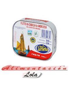 Filete Caballa Tarifeña Aceite Girasol (250 g) - Imagen 1