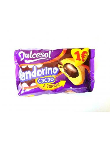 Dulcesol 4 pandorinos relenos de cacao (240 g) - Imagen 1