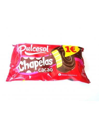 Dulcesol Chapela cacao 4 unidades (220 g) - Imagen 1
