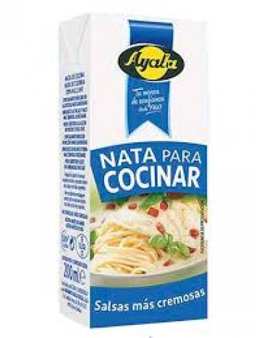 Nata para cocinar ayala 200ml (1U) - Imagen 1